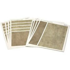 Metcalfe PN111 Printed Paving & Cobblestones Sheets x8 Card Kit N Gauge 1st Post