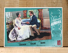 ETERNA ARMONIA fotobusta poster Muni Merle Oberon Chopin A Song to Remember F92