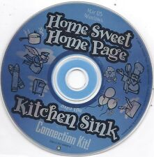 Home Sweet Home Page and the Kitchen Sink Connection Kit CD