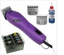 Wahl Km5 Professional 2 Speed Dog Clippers Plus 7f and 10 Blades -