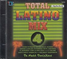 Total Latino Mix 4 Pop Latino Mix Merengue House Mix CD New Nuevo  Sealed