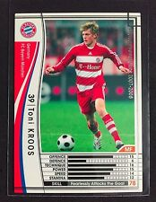 2007-08 Panini WCCF # 168 Toni Kroos Bayern Munich Rookie Card Real Madrid