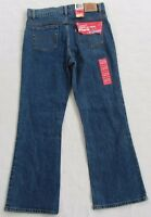 NWT Levi's Girl's 517 Stretch Flare Plus Medium Wash Jeans - Size 12 1/2 Plus