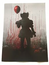"""Stephen King's IT -12.5""""x17"""" Original Promo Movie Poster MINT Cinemark Pennywise"""