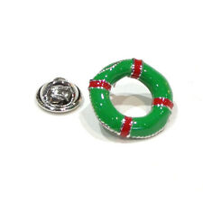 GREEN LIFE Bouy bavero pin badge Anello Cinghia kisby PERRY BOY Guard Regalo Scatola