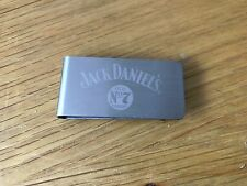 JACK DANIELS STAINLESS STEEL MONEY CLIP   FROM 2004
