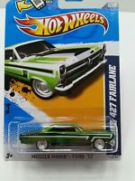 Hot Wheels 2012 STH,  '66 FORD 427 FAIRLANE Green, Ships in Protecto Pak (E2)