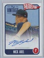 🔥💎 MICK ABEL 2020 Onyx Vintage #/275 ON-CARD AUTO Philadelphia Phillies SP RC