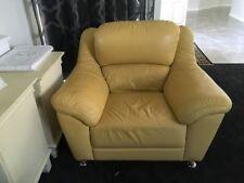 Leather Contemporary Sofa Set, Suites