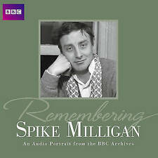 BBC Radio Collection Comedy CD - Remembering Spike Milligan - Audio Book x 2 CDs