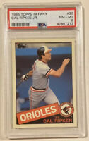 1985 Topps Tiffany CAL RIPKEN, JR. Baseball Card #30 PSA 8 NM-MT Orioles