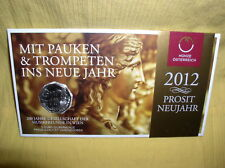 Österreich 5 Euro Silber 2012 hgh  Musikfreunde
