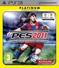 Pro Evolution Soccer 2011 PlayStation 3 PS3 Brand New