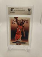 2003-04 Upper Deck MVP #201 LeBron James RC (BCCG 10) -Gem! Secure Shipping