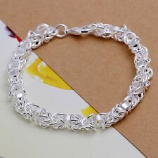 Fashion 925Sterling Solid Silver Jewelry Dragon Bracelet For Women H073
