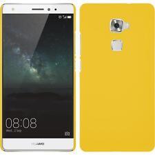 Funda Rígida Huawei Mate S - goma amarillo + protector de pantalla