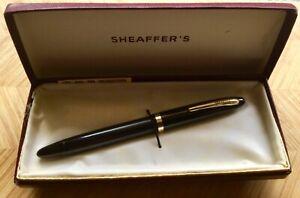 Vintage Sheaffers Craftsman 33 Fountain Pen Tip Dip Boxed,Paperwork.