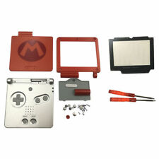 GBA SP Game Boy Advance SP Replacement Housing Shell Screen Lens Super Mario