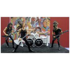 ZAHLEN FIGUREN METALLICA METALL HARZ CD DVD NEU Lars Ulrich James Hetfield