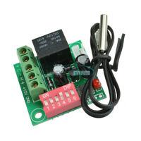 DC 12V Heat Cool Temp Thermostat Digital Temperature Control Switch 20-90℃ M