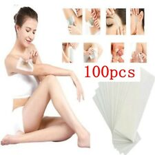100pcs Non-Woven Body Cloth Remove Wax Paper Rollers Hair Removal Remover Paper