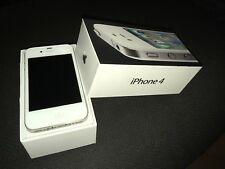 iPhone 4 16GB Bianco usato funzionante accessori originali + cover trasparente