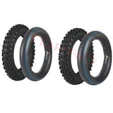 2x Rear 3.00-10 Tire + Tube 80/100-10 for Honda CRF50 XR50 Baja Atomik Orion SSR