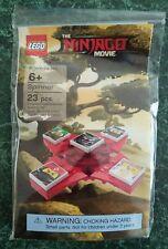 LEGO The NINJAGO Movie SPINNER polybag Garmadon Lloyd Wu Nya exclusive 1x1 tiles