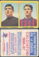 FIGURINA CALCIATORI PANINI A-1966/67* POTENZA,DI VINCENZO/CIARDI* NUOVA