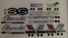 Emblems Kit 43pc w/ fasteners 67 Camaro SS 396 **In Stock** Super Sport