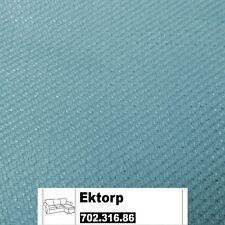IKEA Ektorp Bezug 2er Sofa mit Récamiere Isefall helltürkis 702.316.86