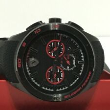 Scuderia Ferrari Gran Premio Men's Black Red Watch - 830344