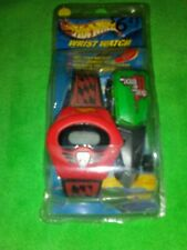 COLLECTIBLE  HOT WHEELS WATCH BY MATTEL Digital red with Diecast car black 2004