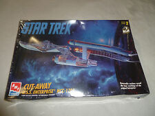 NEW SEALED STAR TREK CUT AWAY USS ENTERPRISE NCC-1701 MODEL KIT ERTL AMT 1995 >>