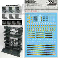 DL Water Decals for Machical Chain Case Machine Nest MS Cage PG MG HG RG Gundam