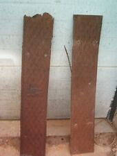 1920 MODEL T RUNNING BOARD SET RAT ROD YARD ART ONLY