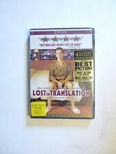 Sealed Lost In Translation Widescreen Dvd Bill Murray Scarlett Johansson