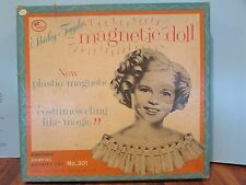 SHIRLEY TEMPLE  MAGNETIC DOLL  C. 1960  GABRIEL   NO. 301
