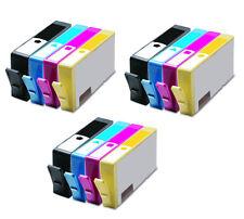 12 PK Compatible Ink Set for HP 564XL Photosmart 5510 5515 5512 5514 5525 5522