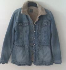 Esprit Damenjeansjacke Longjacke Jacke Jeans Blau Hellblau Größe L 40