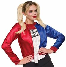 Suicide Squad Harley Quinn Costume Kit 883028151257 L Superheroes Movies Halloween and Horror Rubies DC