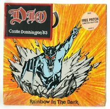 "DIO - Rainbow In The Dark, 7""vinyl UK single MINT SEALED limited edition patch"