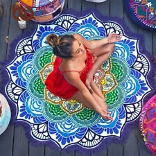 Bedding Outlet Chakra Beach Towel Tassel Yoga  Toalla Mandala Tapestry Sunblock