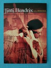 "Jimi Hendrix ""Live at Woodstock 30th Anniversary"" Promo Postcard Nos"