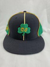 Stall & Dean Clover Leprechaun Fitted Hat Cap Rucker 7 7/8 cs es green jamaican