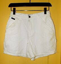 New York Jeans WHITE 100% Cotton Denim SHORTS ~ Size 6 ~ Easy Care