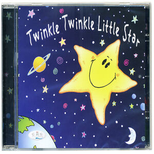 Twinkle twinkle little star children's CD Favourite nursery songs for kids  NEW