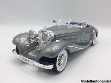 MERCEDES BENZ 500 K Typ Specialroadster 1936 silber 1:18 MAISTO - UVP 58,50 €