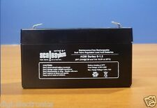6V 1.2AH Rechargeable Valve Regulated Sealed Lead Acid Battery 20HR VRLA SLA
