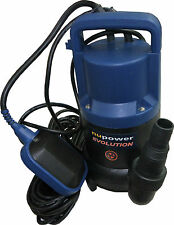 Pompa Sommersa a immersione per acque scure da 400 watt Nupower NUP401